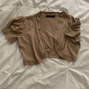 Brown Shrug The Limited